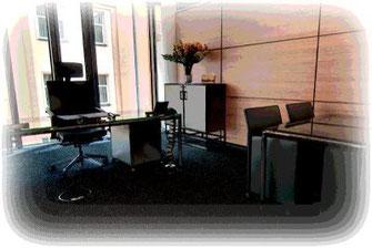 Schallschutz im Büro durch Schallabsorber.