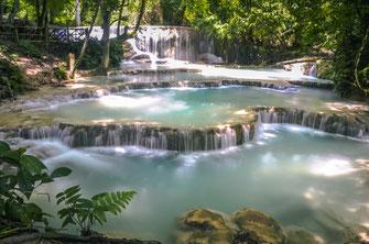 Kuang Si Wasserfälle