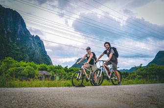 Fahrradtour Vang Vieng