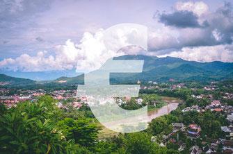 Route und Kosten Laos
