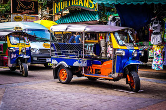 Transportmittel Thailand