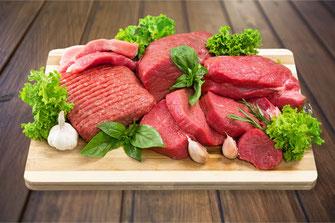 Burger Fleisch von regionale Metzger