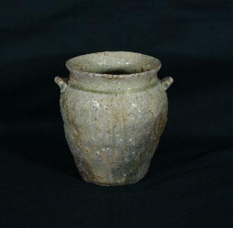 信楽種壺-信楽土(径15cmx高さ15cm)