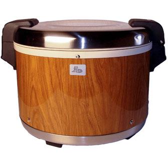Reiswärmer Taiwan mit hochwertiger Holzoptik.