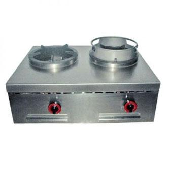 Nayati Tischkocher mit zwei Brenner und bis zu 26 kW Leistung.