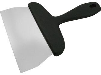 Wender mit flexibler Klinge. Geeignet für die Teppan Yaki Küche.