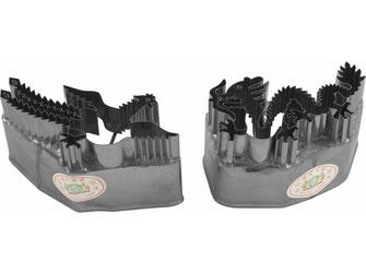 Ausstechformen mit Drachen und Phönix-Motiven aus rostfreiem Stahl
