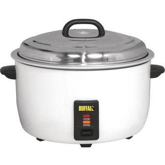 Mit seinen 10,0 Liter die Jumbo Ausführung der Firma Buffalo.