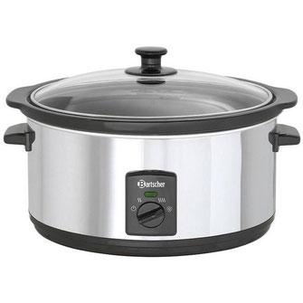 Ovaler Reiswärmer mit 6,5 Liter Kapazität von Bartscher für Reis, Speisen und Suppen