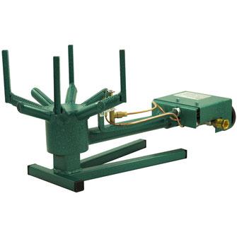 Die Zubereitung von Pekingenten benötigt eine hohe gleichbleibende Temperatur.  Unsere 10 kW Gasbrenner 700B können Sie mit Erdgas oder Propangas betreiben.
