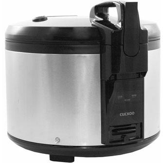 Mit einem Reiskocher können Sie schnell und unkompliziert größere Mengen Reis kochen und Warmhalten.