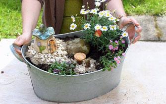 miniaturgarten keramik fleury keramik f r haus und garten. Black Bedroom Furniture Sets. Home Design Ideas
