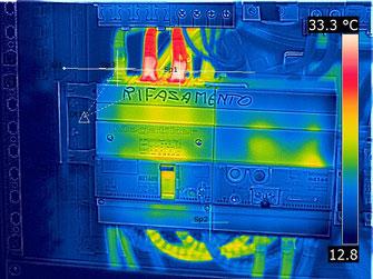 termografia quadri elettrici