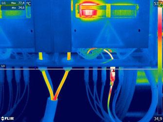 termografia quadri di campo string box