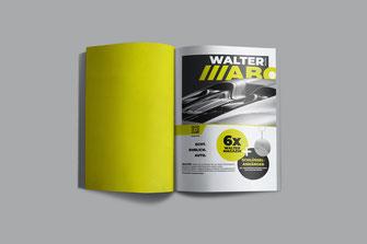 Abo Anzeige für das WALTER Magazin