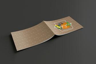 Marketing Booklet für happycup