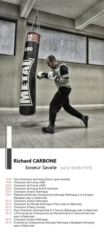 Richard CARBONE Boxeur Savate Boxe Française