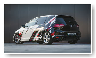 Golf GTI Fahrzeugfolierung