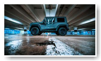 Suzuki Jimny Dachfolierung,Scheibentönung