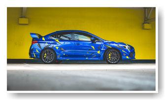 Subaru Impreza Autofolierung