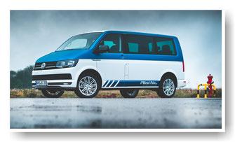 VW Bulli  von Birtel & Fehr und Folierung