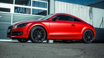 Fahrzeugfolierung Audi TT