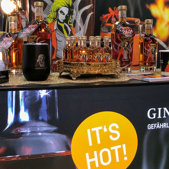 It's hot – Ginsanity Glühgin
