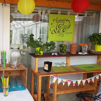 Brunch im Garten - 60. Geburtstag