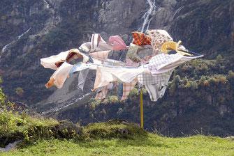 Unser Waschsalon steht allen Gästen von Mürren zur Verfügung