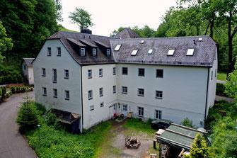 Bild: Wünschendorf Erzgebirge Damm-Mühle