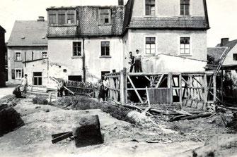Bild: Wünschendorf Kindergarten Schuppenabriß