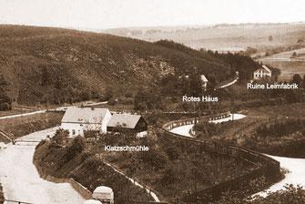 Bild: Wünschendorf Rotes Haus Leimfabrik 1910