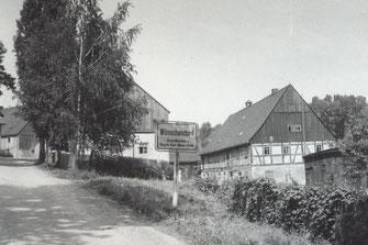 Bild: Ehemaliges Sättlergut Wünschendorf 1971