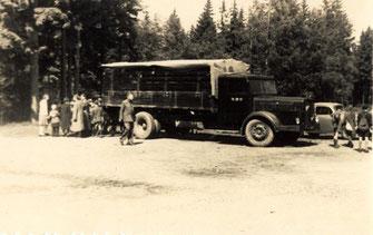 Bild: Wünschendorf LKW Karl Müller 1935