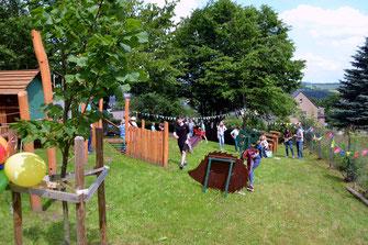 Bild: Spielplatz Wünschendorf 2021