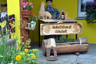 Bild: Schnitzkunst Schubert Siedlung 113 Wünschendorf