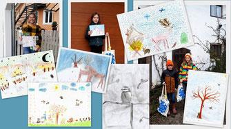 Collage der GewinnerInnen © Leah Reiter