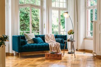 Homestaging Wohnzimmer Beispiel Bachsteffel Home
