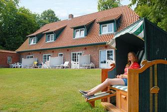 Gästehaus 2 mit Ostseeblick