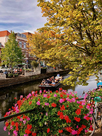 Canals in The Hague