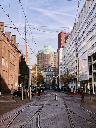 Spuistraat in The Hague