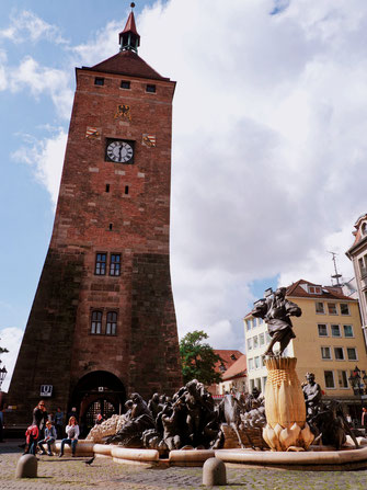 The Nürnberg White Tower