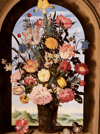 Flower painting - Mauritshuis in The Hague
