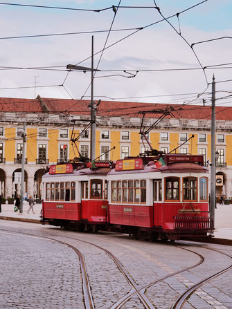 What is Lisbon without its classic trams?