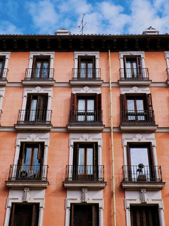Typical architecture of Madrid