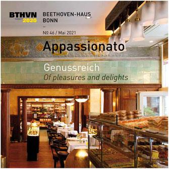 Appassionato N° 46, Magazin des Vereins der Freunde und Förderer Beethoven-Haus