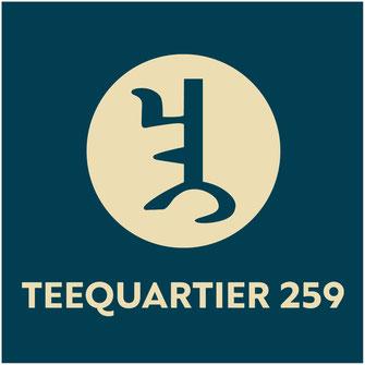Logo für Teequartier 259, ein Teefachgeschäft in Köln