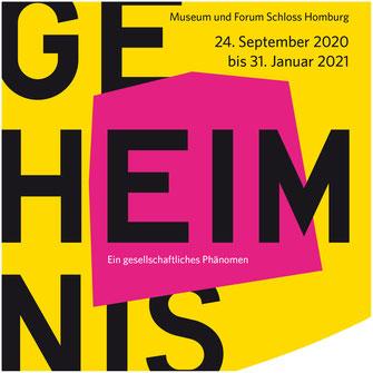 """Sonderausstellung """"Geheimnis. Ein gesellschaftliches Phänomen"""" Museum und Forum Schloss Homburg"""