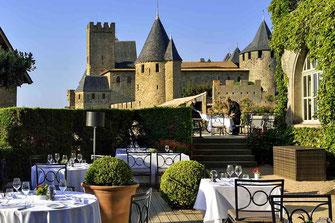 Restaurant La Barbacane - Hôtel de la Cité - Carcassonne