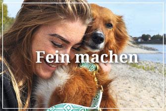 Hundestrand Halsband Leine Geschirr Hundehalsband Hundeleine Hundegeschirr